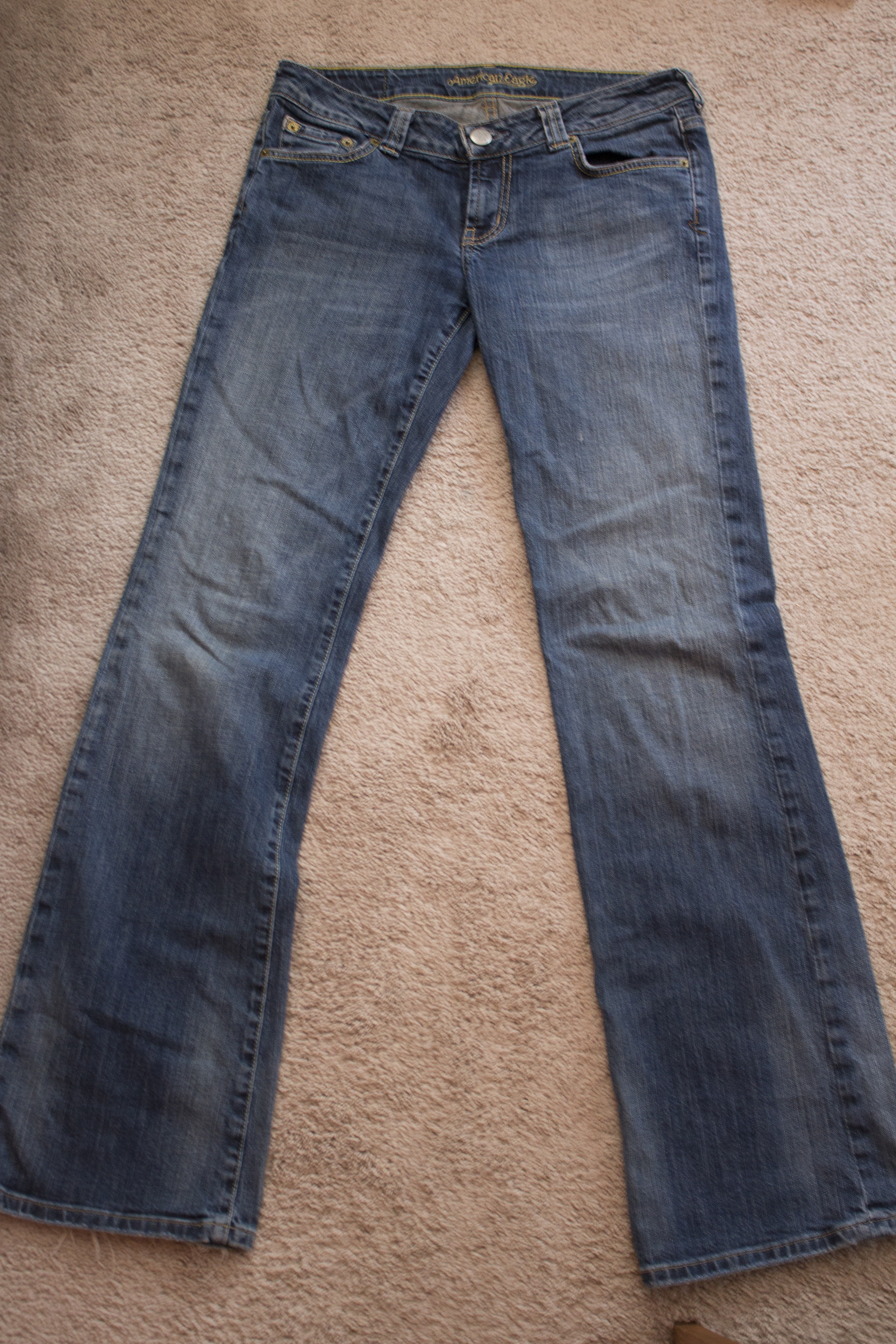 Turning old jeans into trendy shorts jessica moy blog for Old denim