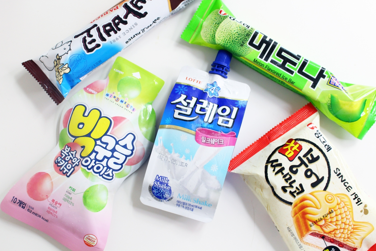 TOP 5 ICE CREAMS FOUND AT KOREAN CONVENIENCE STORES